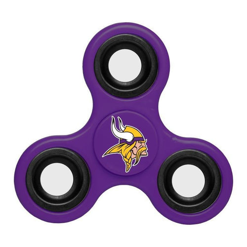 Minnesota Vikings NFL Three Way Team Diztracto Spinner (Spinnerz) - Dynasty Sports & Framing