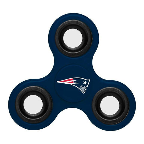 New England Patriots NFL Three Way Team Diztracto Spinner (Spinnerz)