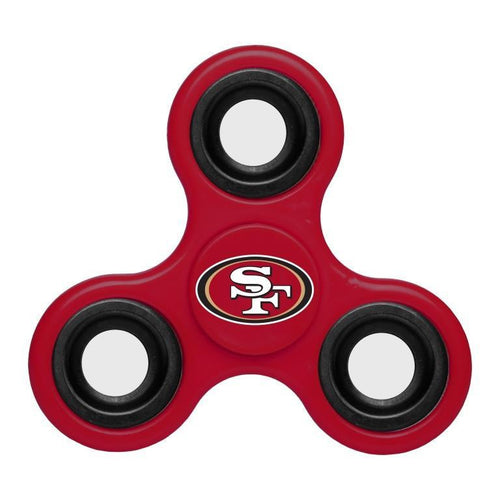San Francisco 49ers NFL Three Way Team Diztracto Spinner (Spinnerz) - Dynasty Sports & Framing