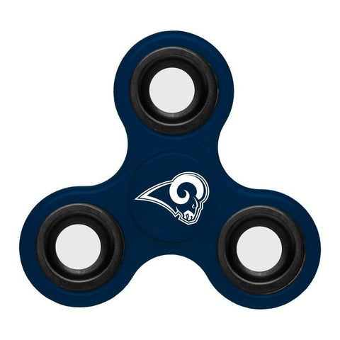 Los Angeles Rams NFL Three Way Team Diztracto Spinner (Spinnerz)