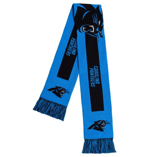 Carolina Panthers NFL Football Big Logo Scarf