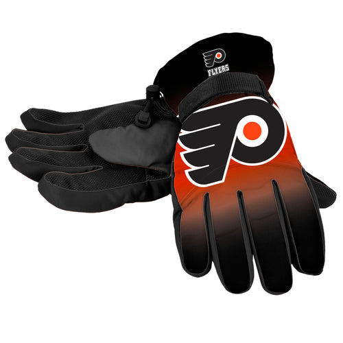 Philadelphia Flyers Big Logo Winter Snow Gloves - Dynasty Sports & Framing