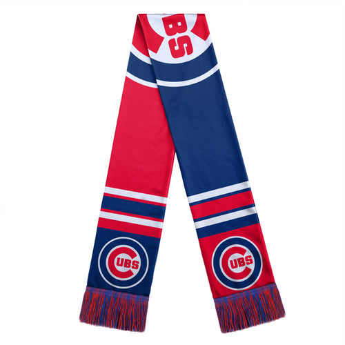 Chicago Cubs MLB Winter Big Logo Scarf - Dynasty Sports & Framing