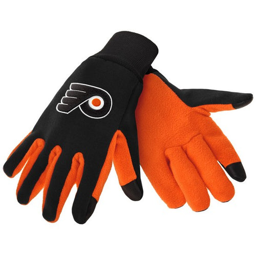 Philadelphia Flyers NHL Hockey Texting Gloves