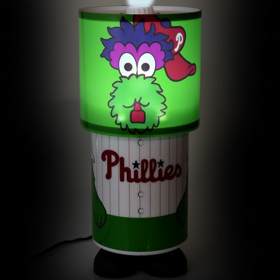 Philadelphia Phillies MLB Baseball Phanatic Desk Lamp