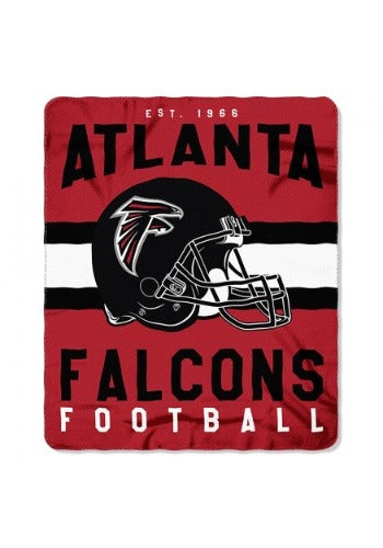 "Atlanta Falcons NFL Football 50"" x 60"" Marque Fleece Blanket"