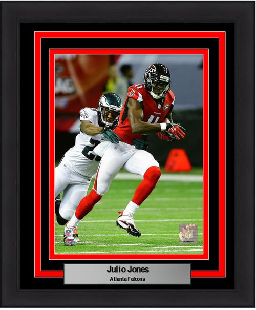 "Atlanta Falcons Julio Jones 8"" x 10"" Framed and Matted Photo - Dynasty Sports & Framing  - 1"