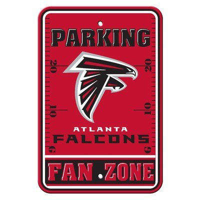 Atlanta Falcons NFL Football Fan Zone Parking Sign - Dynasty Sports & Framing