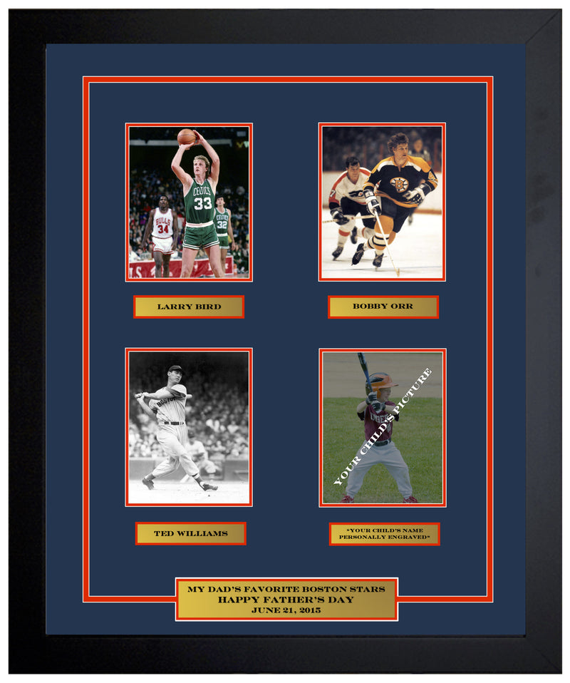Dynasty Sports Quad Photo Collage (Pre-Made and Customizable) - Dynasty Sports & Framing