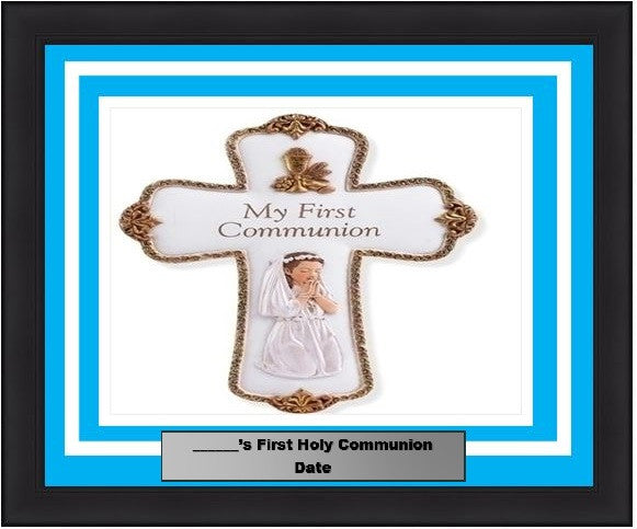 First Holy Communion Picture Photo Frame - Dynasty Sports & Framing
