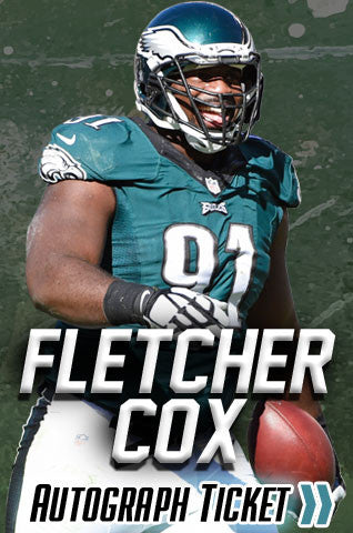 Fletcher Cox Experience Tickets - Dynasty Sports & Framing
