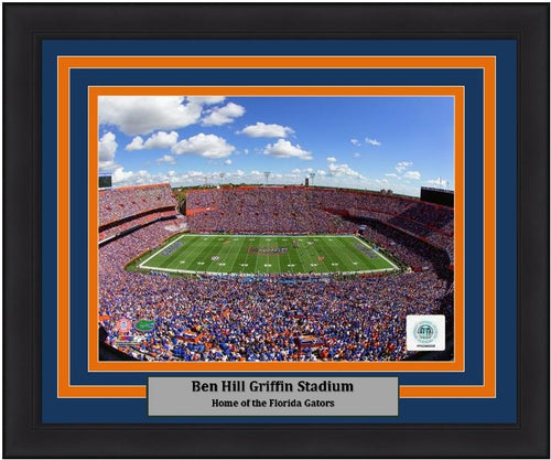 "Florida Gators Ben Hill Griffin Stadium NCAA College Football 8"" x 10"" Framed and Matted Photo - Dynasty Sports & Framing"