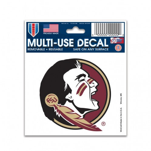 "Florida State Seminoles NCAA College 3"" x 4"" Decal - Dynasty Sports & Framing"