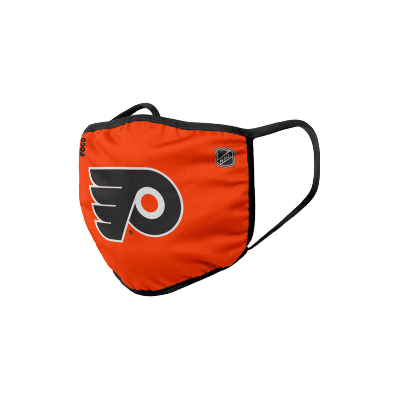 Philadelphia Flyers Solid Big Logo Face Cover Mask - Dynasty Sports & Framing