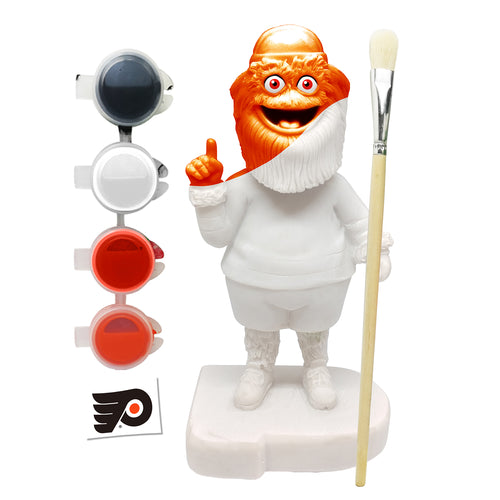 Gritty Philadelphia Flyers Hockey Paint-Your-Own Mascot Bobblehead