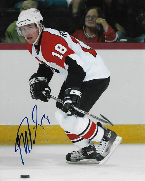 "Mike Richards in Action Philadelphia Flyers Autographed 8"" x 10"" Photo - Dynasty Sports & Framing"