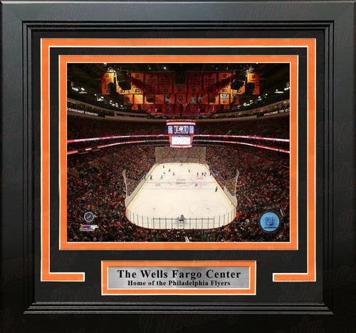 "Philadelphia Flyers Wells Fargo Center 8"" x 10"" Framed Hockey Stadium Photo - Dynasty Sports & Framing"