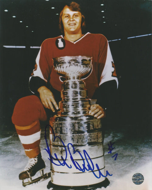 "Bill Barber Stanley Cup Autographed Philadelphia Flyers 8"" x 10"" Hockey Photo - Dynasty Sports & Framing"