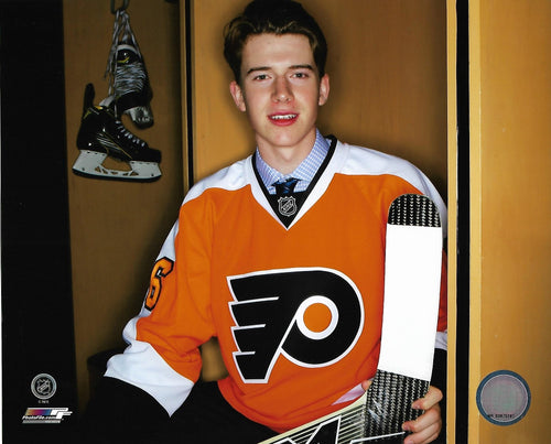 Philadelphia Flyers Carter Hart Locker Room NHL Hockey Photo
