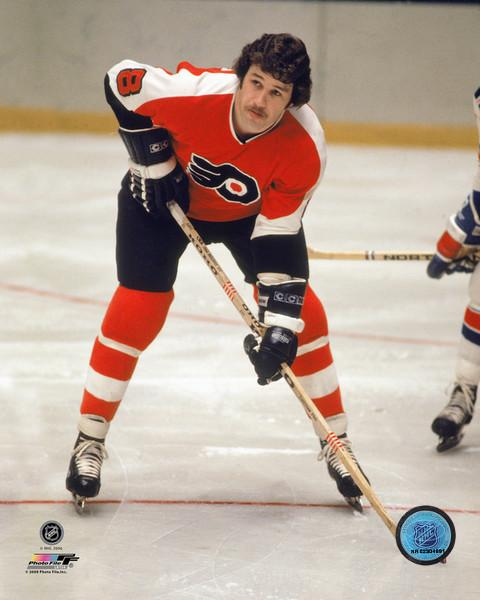 "Philadelphia Flyers Dave Schultz Skating NHL Hockey 8"" x 10"" Photo"