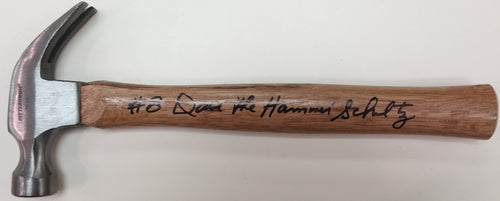 "Philadelphia Flyers Dave Schultz Autographed Hammer with ""The Hammer"" Inscription - Dynasty Sports & Framing"