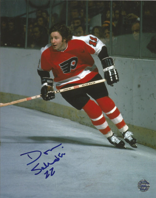 "Philadelphia Flyers Don Saleski Autographed NHL Hockey 8"" x 10"" Photo - Dynasty Sports & Framing"
