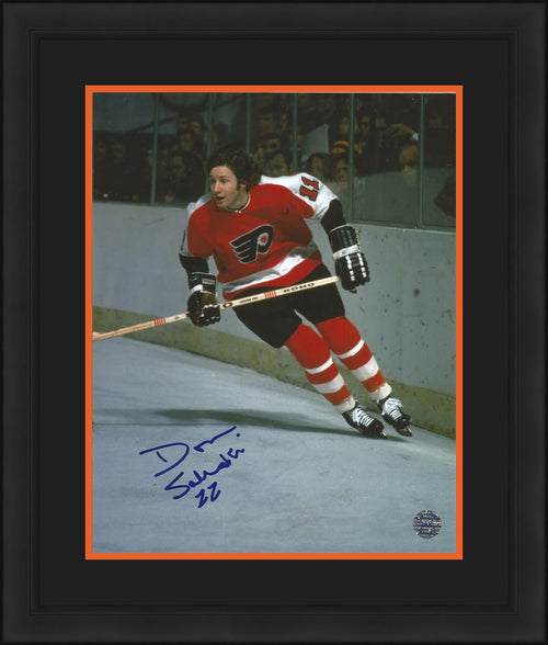 "Philadelphia Flyers Don Saleski Autographed NHL Hockey 8"" x 10"" Framed and Matted Photo - Dynasty Sports & Framing"