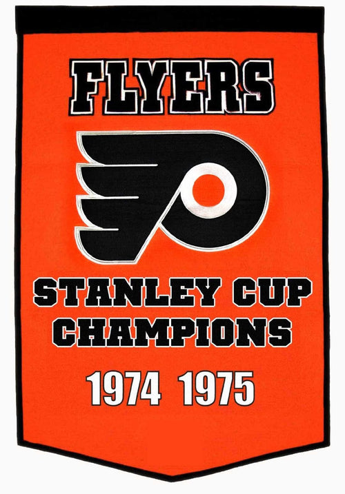Philadelphia Flyers NHL Dynasty Banner - Dynasty Sports & Framing