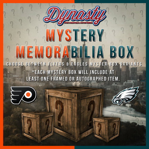 Dynasty Sports Memorabilia Mystery Box | Philadelphia Eagles & Flyers