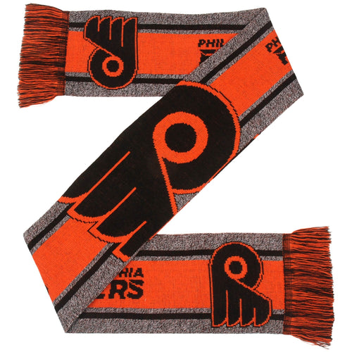 Philadelphia Flyers Charcoal Logo Scarf - Dynasty Sports & Framing
