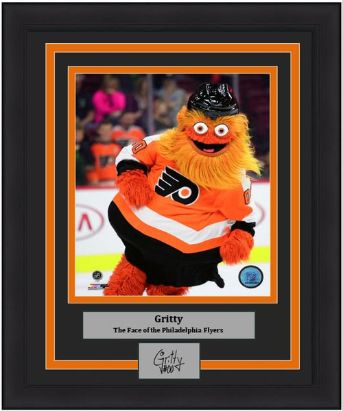 "Gritty Engraved Autograph 8"" x 10"" Framed & Matted Print (Auction)"