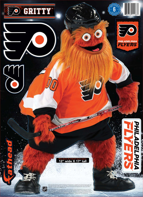 Gritty Philadelphia Flyers NHL Hockey Fathead