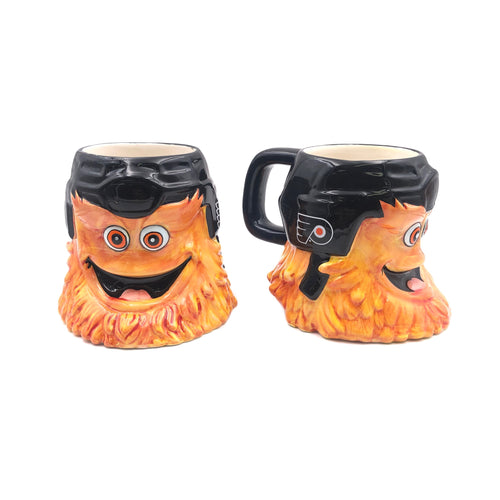 Gritty 18 oz. Philadelphia Flyers Mascot Hockey Mug - Dynasty Sports & Framing
