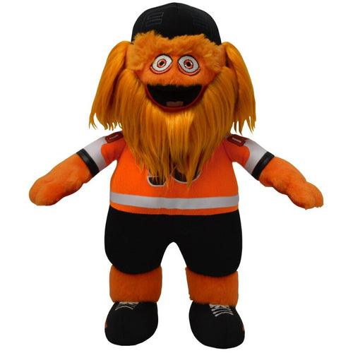 Gritty Philadelphia Flyers Plush Mascot Figure (Orange Jersey)