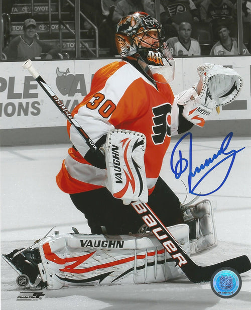 "Ilya Bryzgalov Spotlight Autographed Philadelphia Flyers 8"" x 10"" Hockey Photo - Dynasty Sports & Framing"