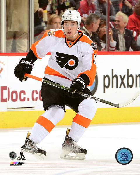"Ivan Provorov Skating Philadelphia Flyers 11"" x 14"" Hockey Photo - Dynasty Sports & Framing"