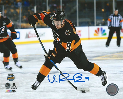 Philadelphia Flyers Ivan Provorov Stadium Series Autographed NHL Hockey Photo