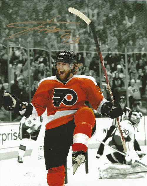 Philadelphia Flyers Jakub Voracek Spotlight Autographed NHL Hockey Photo - Dynasty Sports & Framing