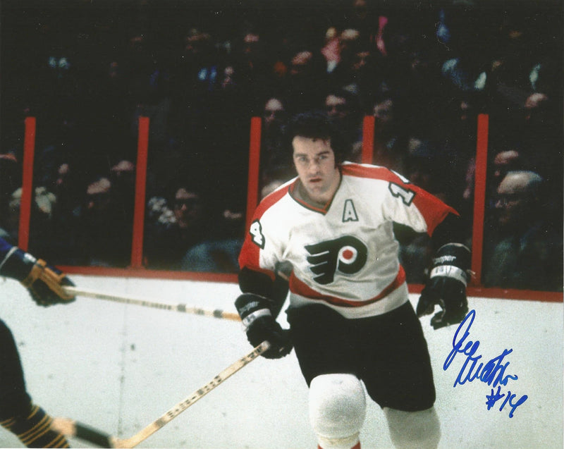 "Philadelphia Flyers Joe Watson Autographed NHL Hockey 8"" x 10"" Photo - Dynasty Sports & Framing"