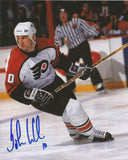 "John LeClair Autographed Philadelphia Flyers White Jersey 8"" x 10"" Photo - Dynasty Sports & Framing  - 1"