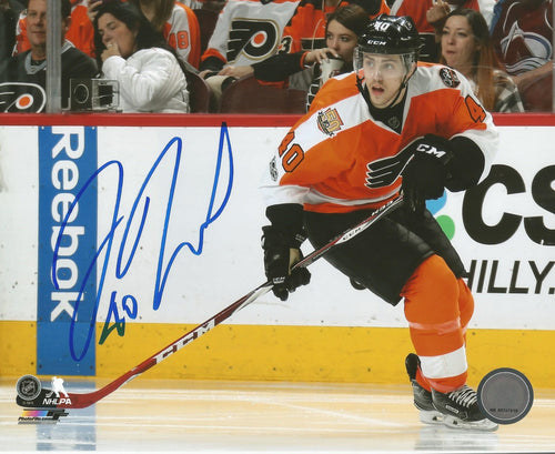 Philadelphia Flyers Jordan Weal Autographed NHL Hockey Photo