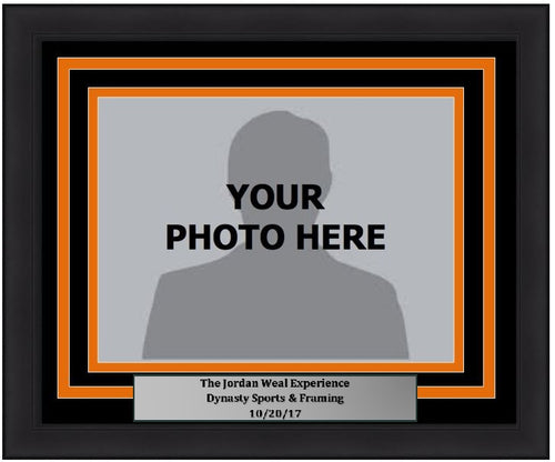 "Philadelphia Flyers Jordan Weal 5"" x 7"" Photo Frame Kit with Commemorative Nameplate, Autograph Signing on 10-20-17"