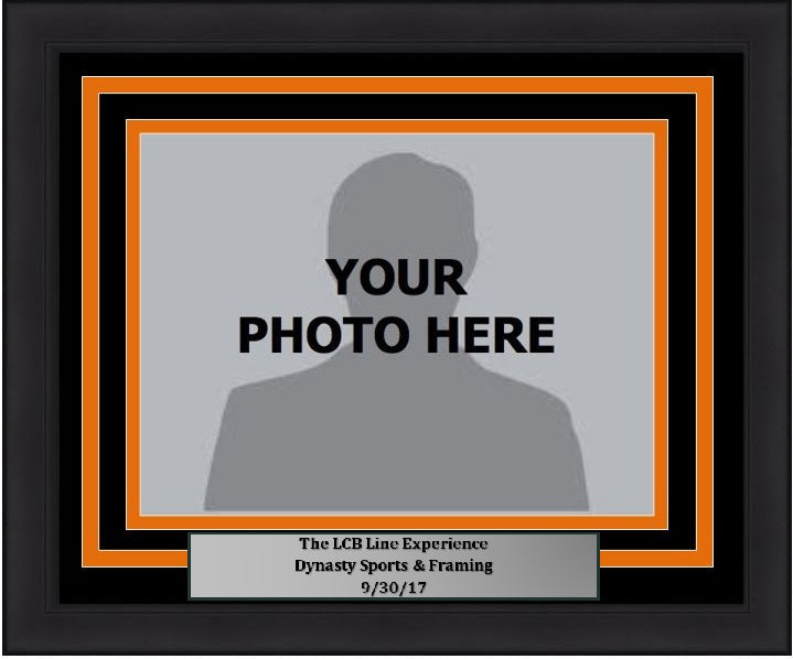 "Philadelphia Flyers LCB Line 5"" x 7"" Photo Frame Kit with Commemorative Nameplate, Autograph Signing on 9-30-17"