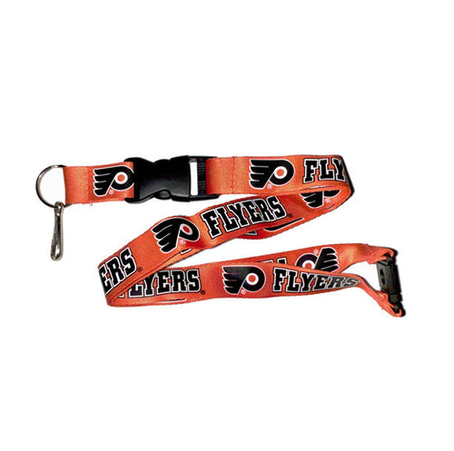 Philadelphia Flyers NHL Hockey Lanyard Keychain