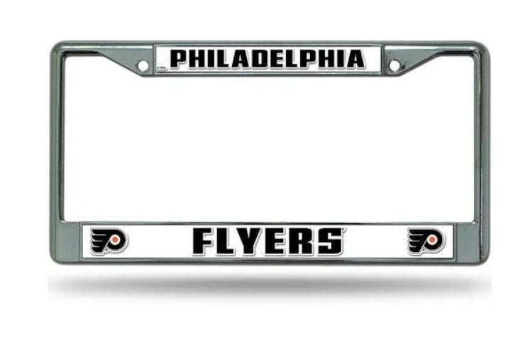 philadelphia flyers nhl license plate frame nhl hockey license