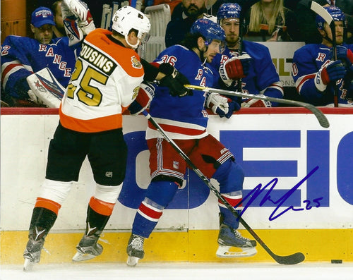 "Philadelphia Flyers Nick Cousins Check Autographed NHL Hockey 8"" x 10"" Photo - Dynasty Sports & Framing"
