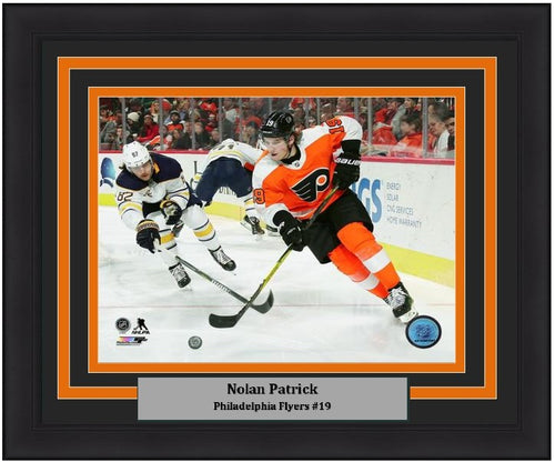 "Philadelphia Flyers Nolan Patrick NHL Hockey 8"" x 10"" Framed and Matted Photo"