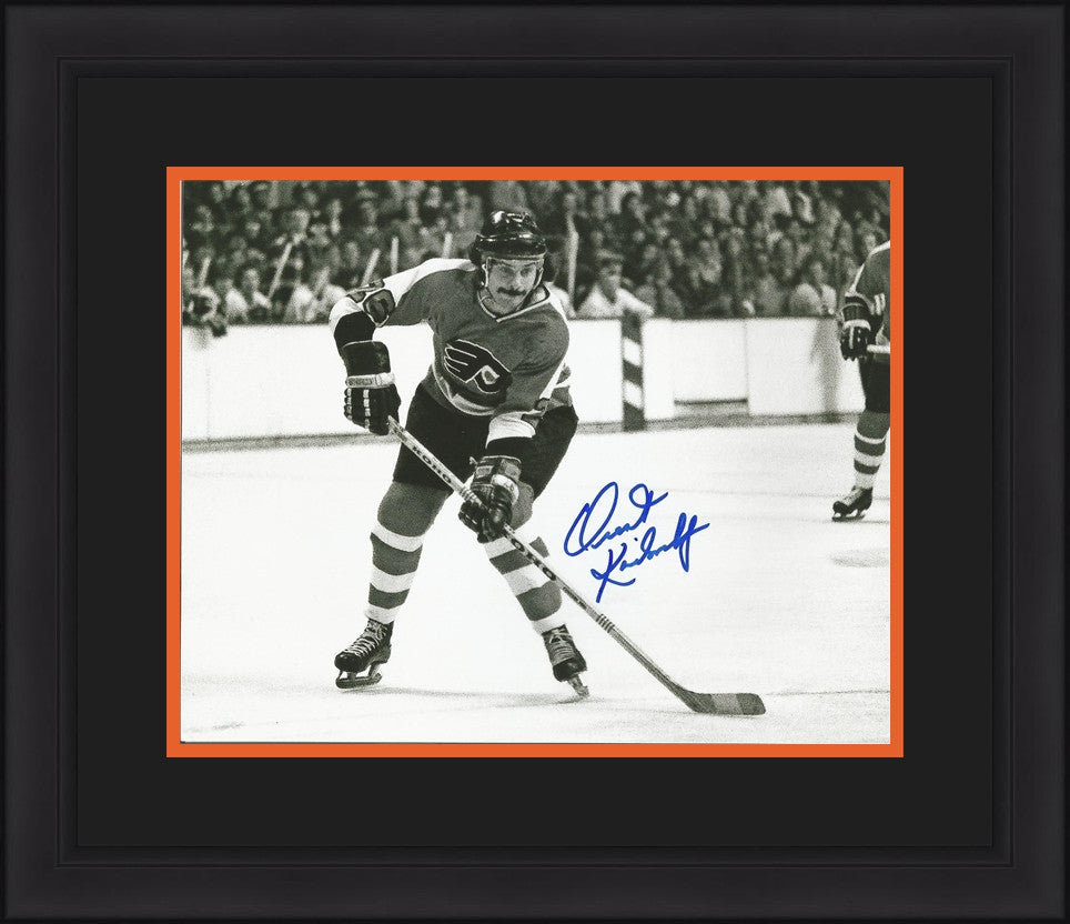 Philadelphia Flyers Orest Kindrachuk Autographed NHL Hockey Framed ...