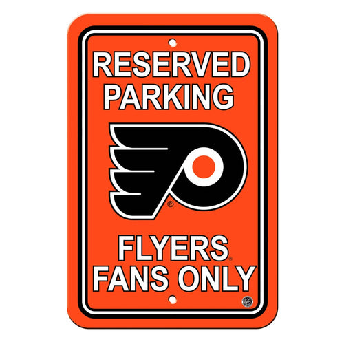 Philadelphia Flyers NHL Hockey Parking Sign
