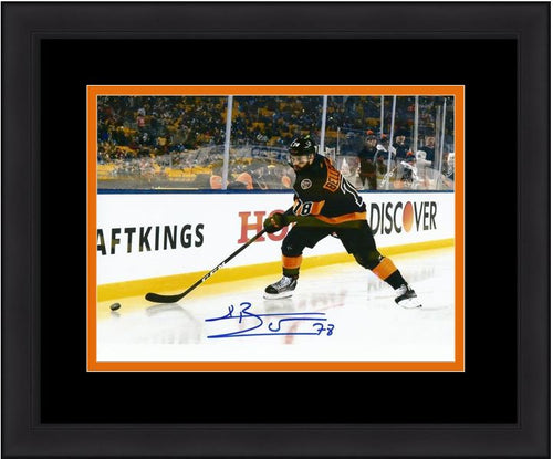 Philadelphia Flyers Pierre-Édouard Bellemare Stadium Series Autographed NHL Hockey Framed and Matted Photo - Dynasty Sports & Framing